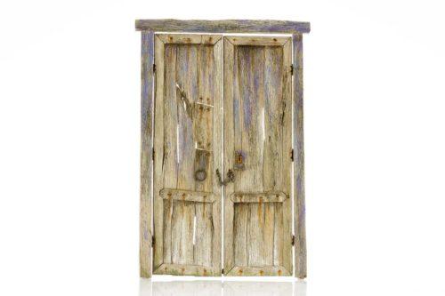 189-1 puerta de madera Ortigosa