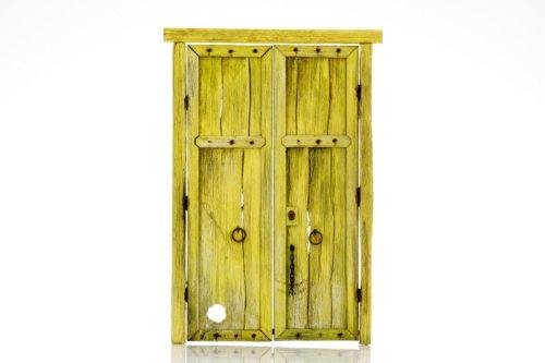 191-1 puerta de madera Villanueva