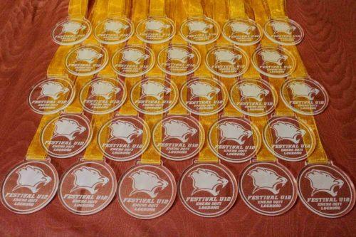 Medalla personalizada metacrilato